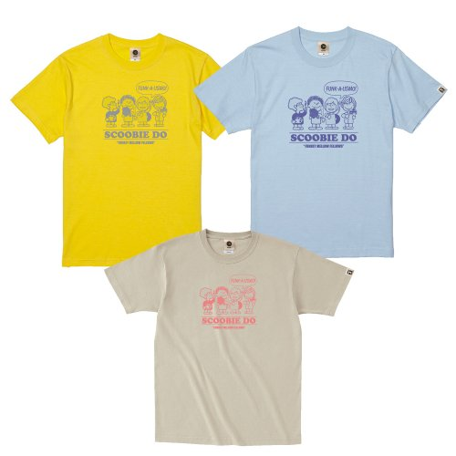 Scoobie Do_FUNKY MELLOWな仲間たちTシャツ〜Spring ver.〜※イエローは通販限定