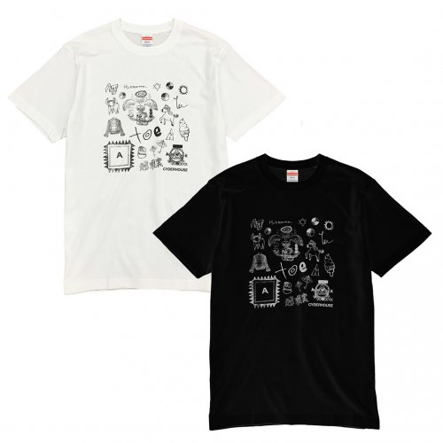 <img class='new_mark_img1' src='https://img.shop-pro.jp/img/new/icons5.gif' style='border:none;display:inline;margin:0px;padding:0px;width:auto;' />toe_CYDER HOUSE TEE