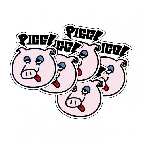[受付終了]PIGGS_PIGGSFACEステッカー(5枚セット