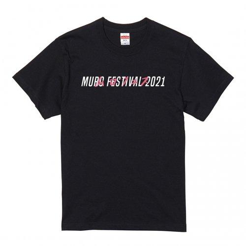 MURO FES 2021_Tシャツ_ブラック