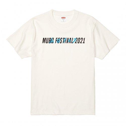 MURO FES 2021_Tシャツ_バニラホワイト