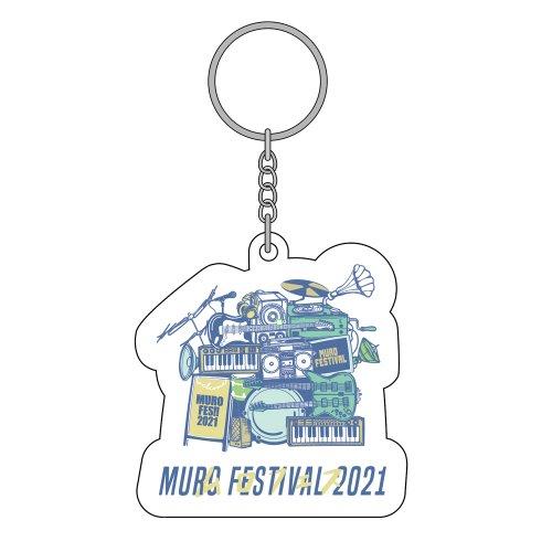 MURO FES 2021_アクリルキーホルダー