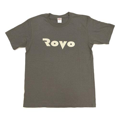 <img class='new_mark_img1' src='https://img.shop-pro.jp/img/new/icons5.gif' style='border:none;display:inline;margin:0px;padding:0px;width:auto;' />ROVO_アルバム『ROVO』ロゴTシャツ_2021年新色_セメントグレー