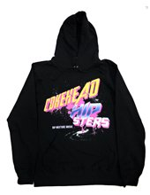 COKEHEAD HIPSTERS_80'S LOGO HOODIE