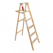 Michigan Ladder Company / Wood Step Ladder ウッドステップラダー - Size 6<img class='new_mark_img2' src='https://img.shop-pro.jp/img/new/icons47.gif' style='border:none;display:inline;margin:0px;padding:0px;width:auto;' />