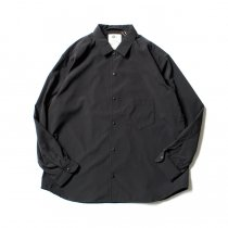 O-(オー)/ BAGGY SHIRT バギーシャツ O-S-04 Black<img class='new_mark_img2' src='https://img.shop-pro.jp/img/new/icons47.gif' style='border:none;display:inline;margin:0px;padding:0px;width:auto;' />