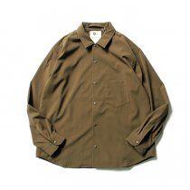 O-(オー)/ BAGGY SHIRT バギーシャツ O-S-04 Olive<img class='new_mark_img2' src='https://img.shop-pro.jp/img/new/icons47.gif' style='border:none;display:inline;margin:0px;padding:0px;width:auto;' />