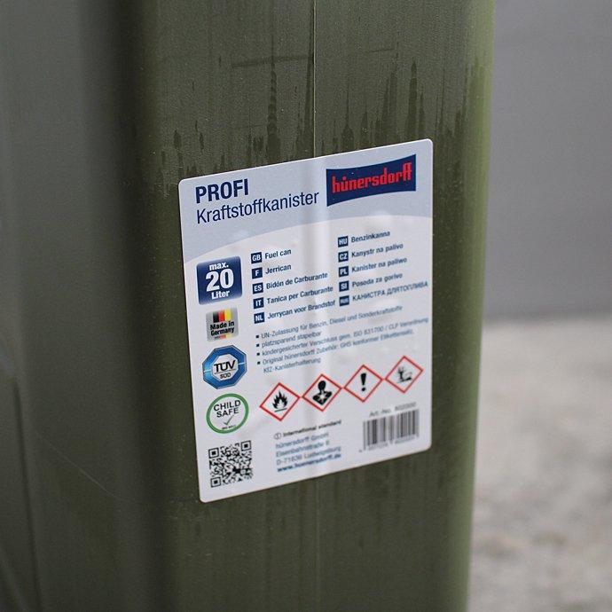 119910246 Hunersdorff / Fuel Can PROFI 20L ヒューナースドルフ キャニスタータンク 20L 02