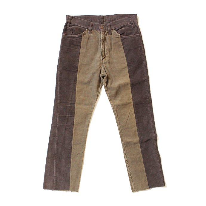 123396341 Hexico / Deformer Pants - Ex. U.S. Corduroy リメイクコーデュロイパンツ - 33 ブラウン 01