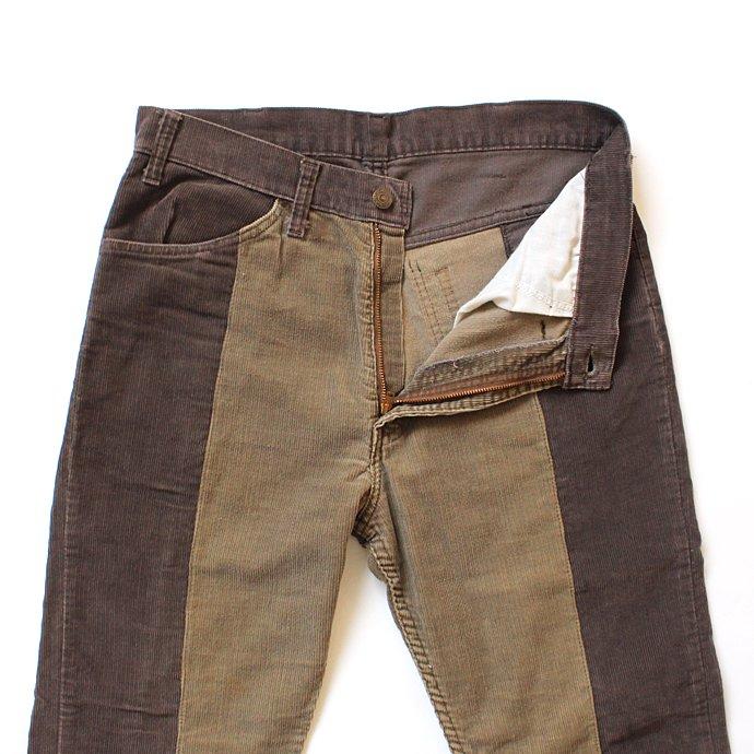 123396341 Hexico / Deformer Pants - Ex. U.S. Corduroy リメイクコーデュロイパンツ - 33 ブラウン 02