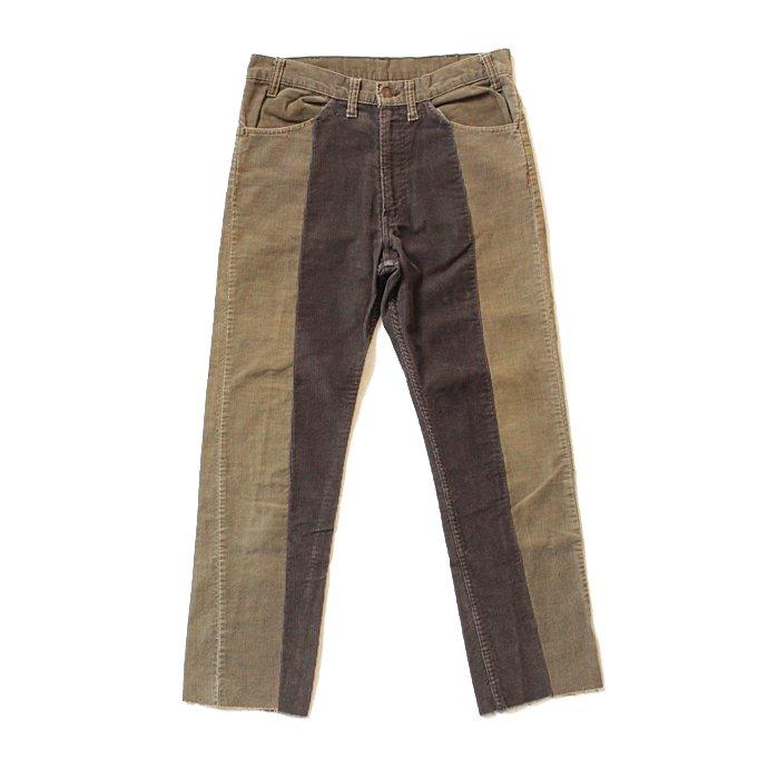 123396408 Hexico / Deformer Pants - Ex. U.S. Corduroy リメイクコーデュロイパンツ - 33 ベージュ 01