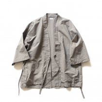 blurhms / Nylon Kendo Jacket BHS-18SS007 - Grey Beige<img class='new_mark_img2' src='https://img.shop-pro.jp/img/new/icons20.gif' style='border:none;display:inline;margin:0px;padding:0px;width:auto;' />