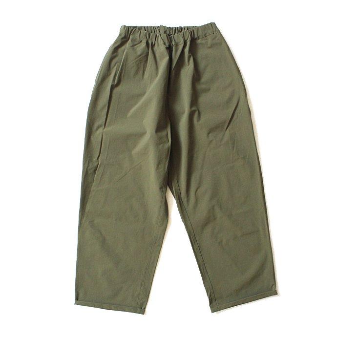 127891283 Powderhorn Mountaineering / P.H. M. Easy Pants ストレッチナイロンイージーパンツ PH21SS-004 - Olive 01