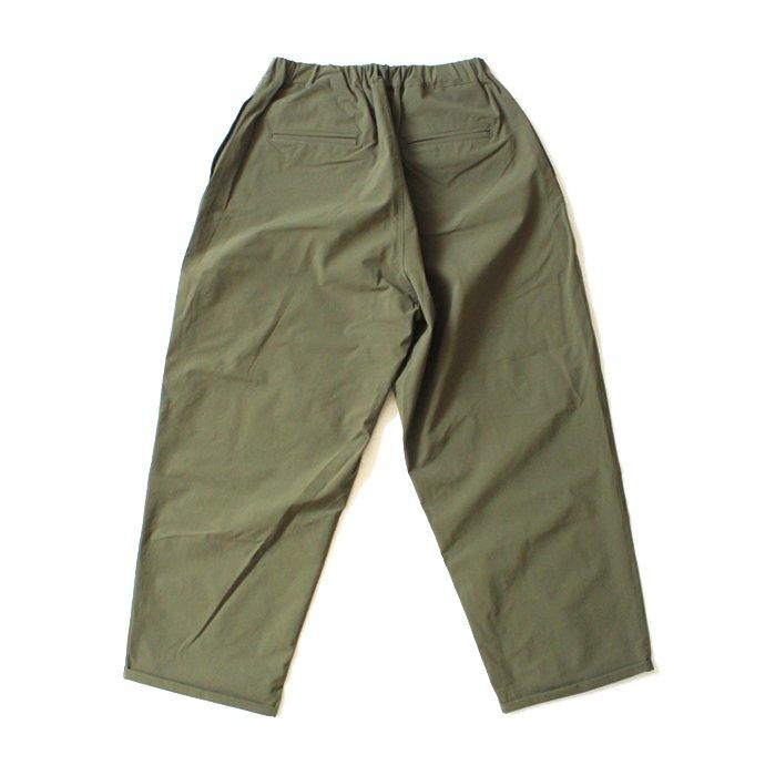 127891283 Powderhorn Mountaineering / P.H. M. Easy Pants ストレッチナイロンイージーパンツ PH21SS-004 - Olive 02