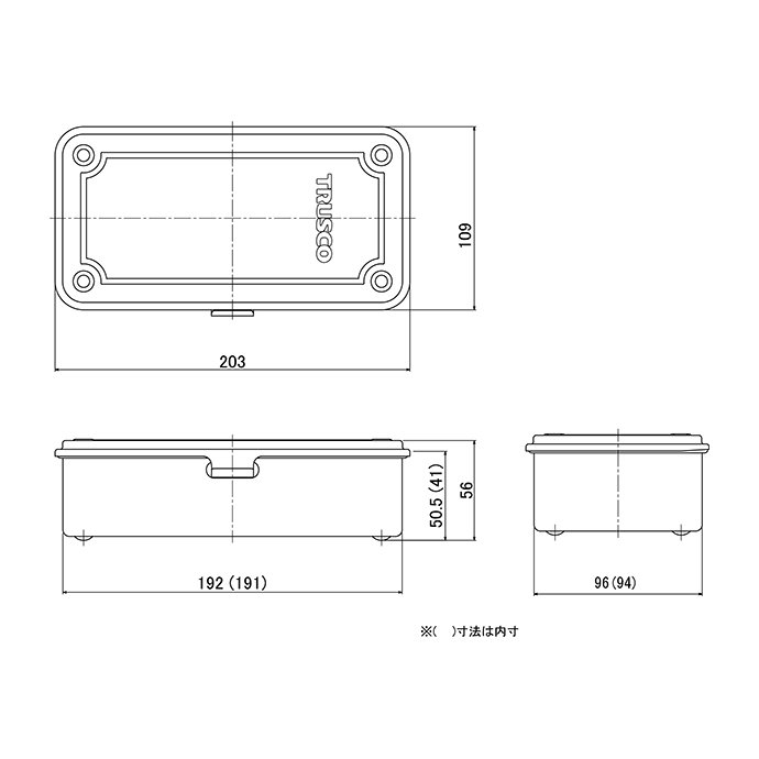 128594050 TRUSCO / トランク型工具箱 T-190MOD 陸上自衛隊OD<img class='new_mark_img2' src='https://img.shop-pro.jp/img/new/icons47.gif' style='border:none;display:inline;margin:0px;padding:0px;width:auto;' /> 02
