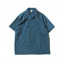 CalTop / 3003 オープンカラーシャツ - Sage Blue