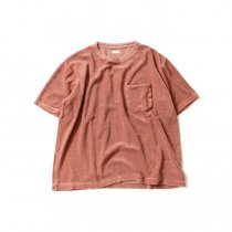 blurhms / Linen Pile Pocket Tee BHS-18SS018 - Ash Pink<img class='new_mark_img2' src='https://img.shop-pro.jp/img/new/icons20.gif' style='border:none;display:inline;margin:0px;padding:0px;width:auto;' />