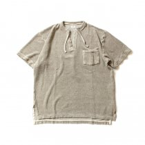 blurhms / Linen Pile Skipper BHS-18SS020 - Ash Beige<img class='new_mark_img2' src='https://img.shop-pro.jp/img/new/icons20.gif' style='border:none;display:inline;margin:0px;padding:0px;width:auto;' />