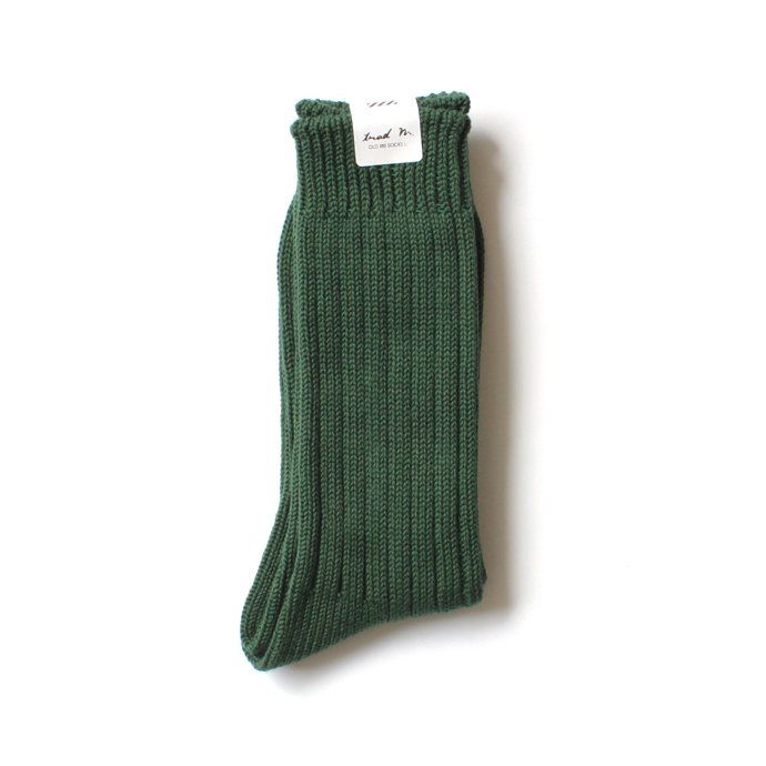 130441620 Trad Marks / Old Rib Socks リブソックス - British Green 02