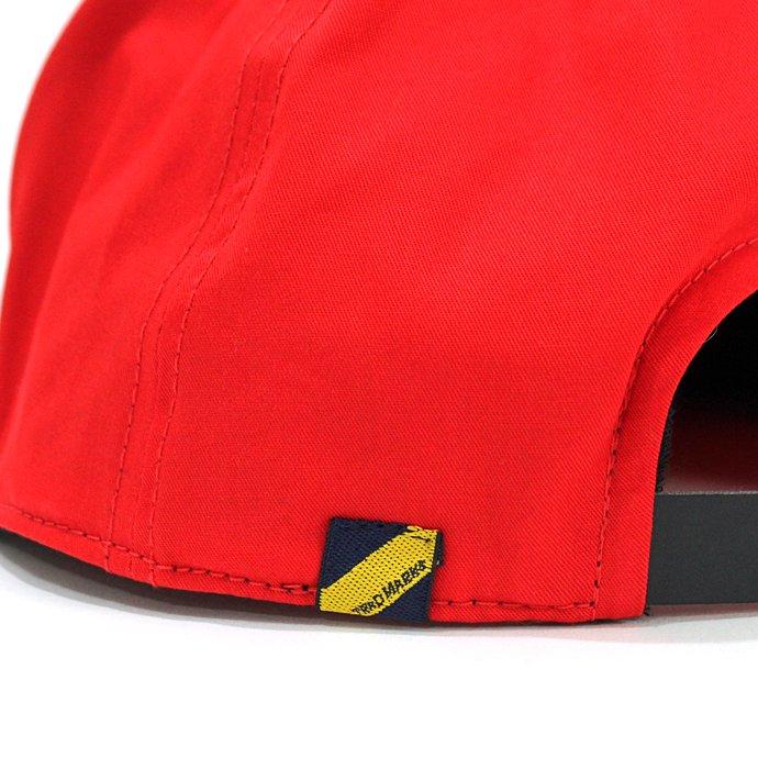 130447591 Trad Marks / trad m. Signature Logo Cap - Red シグネチャーロゴキャップ レッド 02