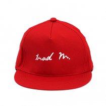 Trad Marks / trad m. Signature Logo Cap - Red シグネチャーロゴキャップ レッド