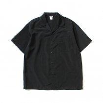 CalTop / 3003 オープンカラーシャツ - Black