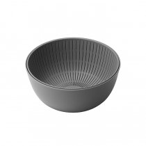 like-it / Colander & Bowl 米とぎにも使えるザルとボウル - グレー<img class='new_mark_img2' src='https://img.shop-pro.jp/img/new/icons47.gif' style='border:none;display:inline;margin:0px;padding:0px;width:auto;' />