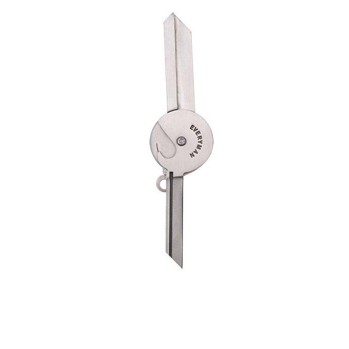 134473855 EVERYMAN / Porter Key Knife ポーターキーナイフ Silver 02