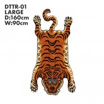 Tibetan Tiger Rug チベタンタイガーラグ DTTR-01 Lサイズ<img class='new_mark_img2' src='https://img.shop-pro.jp/img/new/icons47.gif' style='border:none;display:inline;margin:0px;padding:0px;width:auto;' />