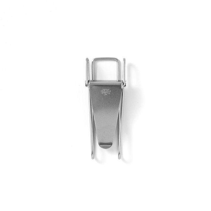 135274872 CANDY DESIGN & WORKS / Hopper Double Clip CHW-01 ダブルクリップ - Nickel 01