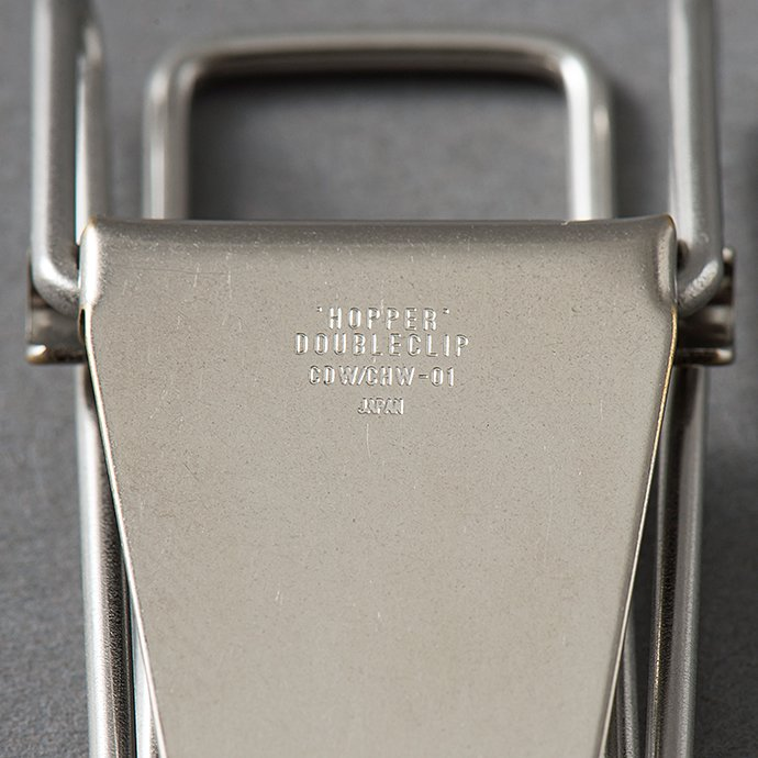 135274872 CANDY DESIGN & WORKS / Hopper Double Clip CHW-01 ダブルクリップ - Nickel 02