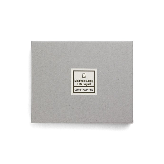 135276109 CANDY DESIGN & WORKS / Burroughs CLS-02 レザーコインケース - ブラウン/ニッケル 02
