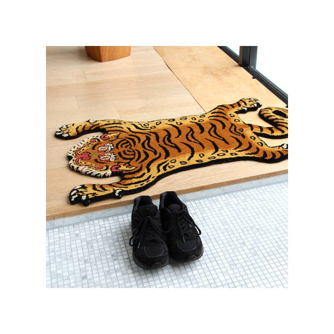 135683643 Tibetan Tiger Rug チベタンタイガーラグ DTTR-02 Sサイズ<img class='new_mark_img2' src='https://img.shop-pro.jp/img/new/icons47.gif' style='border:none;display:inline;margin:0px;padding:0px;width:auto;' /> 02