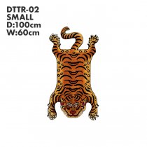 Tibetan Tiger Rug チベタンタイガーラグ DTTR-02 Sサイズ<img class='new_mark_img2' src='https://img.shop-pro.jp/img/new/icons47.gif' style='border:none;display:inline;margin:0px;padding:0px;width:auto;' />