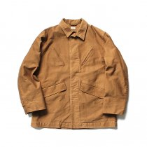 blurhms / Extra Heavy Cotton Moleskin Jacket BHS-18AW011 - Coyote<img class='new_mark_img2' src='https://img.shop-pro.jp/img/new/icons20.gif' style='border:none;display:inline;margin:0px;padding:0px;width:auto;' />