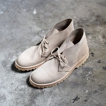 Suffolk Shoes / Desert Boots - Sand Suede デザートブーツ