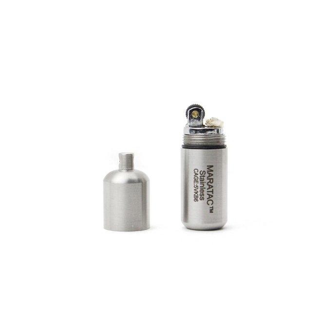 137250527 MARATAC / Stainless Peanut Lighter - L ステンレスピーナッツライター 02