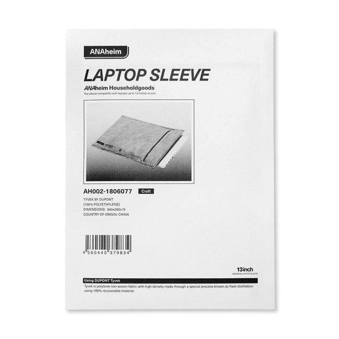 139102755 Anaheim Laptop Sleeve 13inch - White アナハイム ラップトップ スリーブ - 13インチ ホワイト<img class='new_mark_img2' src='https://img.shop-pro.jp/img/new/icons47.gif' style='border:none;display:inline;margin:0px;padding:0px;width:auto;' /> 02