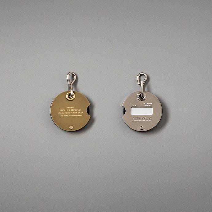 139134174 CANDY DESIGN & WORKS / Ben CAT-01 ペット用ネームタグ - Brass 02