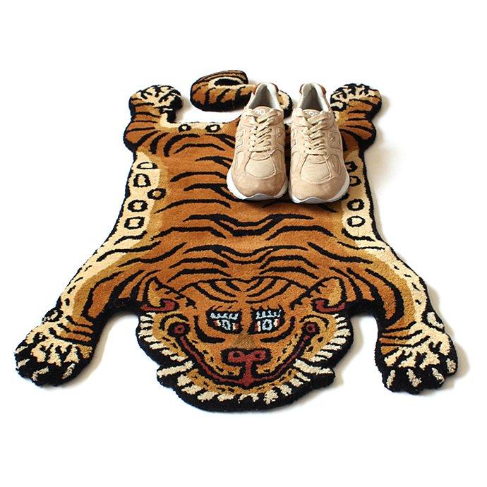 135683643 Tibetan Tiger Rug チベタンタイガーラグ DTTR-01 Sサイズ<img class='new_mark_img2' src='https://img.shop-pro.jp/img/new/icons47.gif' style='border:none;display:inline;margin:0px;padding:0px;width:auto;' /> 02