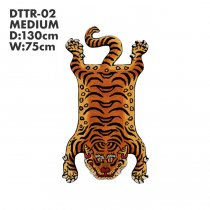 Tibetan Tiger Rug チベタンタイガーラグ DTTR-02 Mサイズ<img class='new_mark_img2' src='https://img.shop-pro.jp/img/new/icons47.gif' style='border:none;display:inline;margin:0px;padding:0px;width:auto;' />