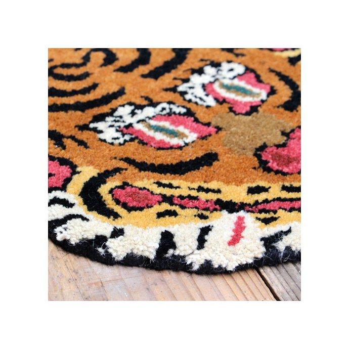 134995459 Tibetan Tiger Rug チベタンタイガーラグ DTTR-02 Lサイズ 02