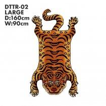Tibetan Tiger Rug チベタンタイガーラグ DTTR-02 Lサイズ