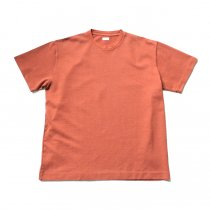 blurhms / Seed Stitch Box Tee BHS-19SS025-SED - Ash Orange<img class='new_mark_img2' src='https://img.shop-pro.jp/img/new/icons20.gif' style='border:none;display:inline;margin:0px;padding:0px;width:auto;' />