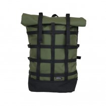 BRAASI INDUSTRY / WEBBING - 18L Khaki 耐水ロールトップバックパック<img class='new_mark_img2' src='https://img.shop-pro.jp/img/new/icons47.gif' style='border:none;display:inline;margin:0px;padding:0px;width:auto;' />