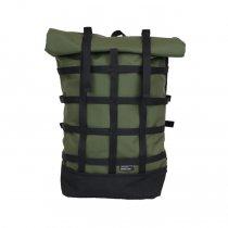 BRAASI INDUSTRY / WEBBING - 18L Khaki 耐水ロールトップバックパック