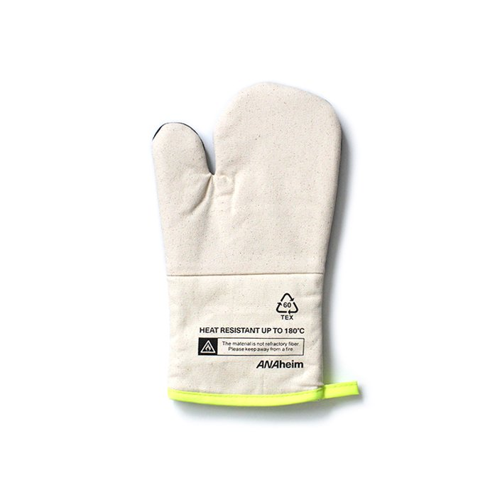 141983191 Anaheim Oven Glove アナハイムオーブングローブ - Yellow 01