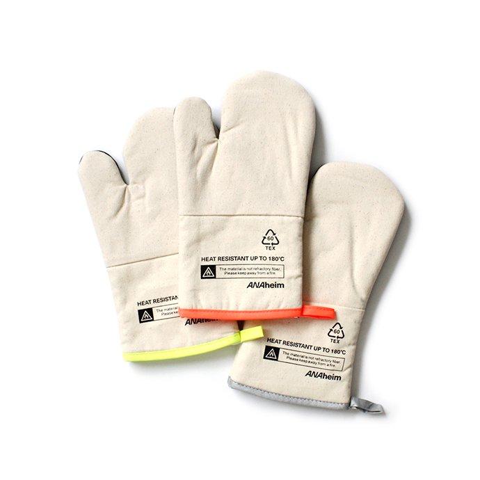141983405 Anaheim Oven Glove アナハイムオーブングローブ - Grey 02