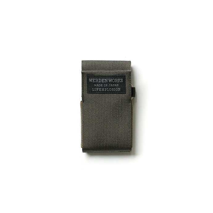 142174669 WERDENWORKS / CARD CASE CC001 - Olive カードケース オリーブ 01