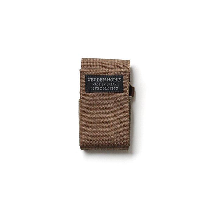 142174693 WERDENWORKS / CARD CASE CC001 - Sand 01